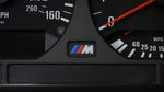 E36 Instrument Gauge Cluster M Logo Replacement - Backlight Compatible