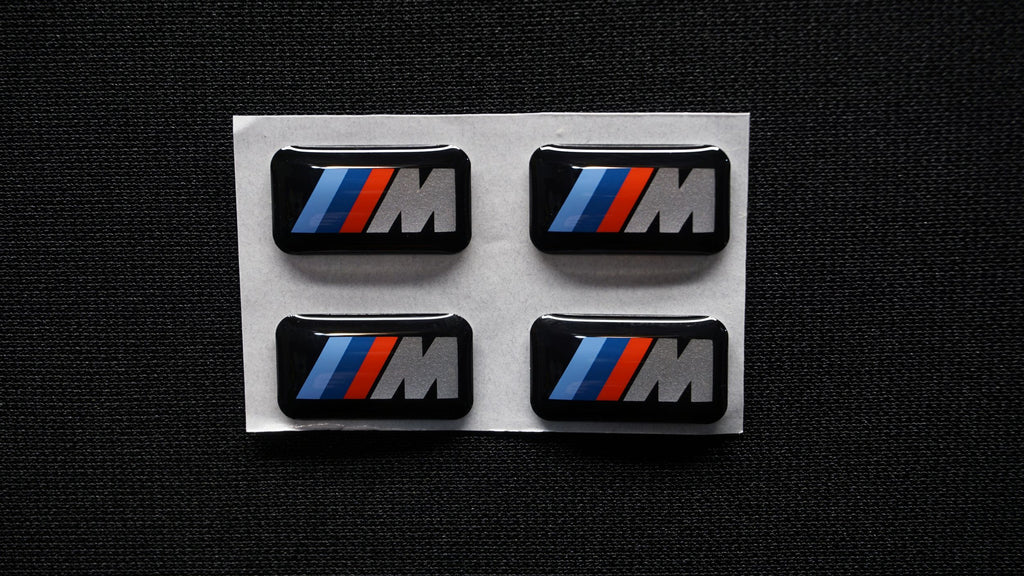 BMW Wheel M Emblem - Genuine BMW 36112228660 (Set of 4)