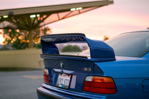 "E36 Replica Gurney Flap (Wickerbill) ""OEM Size"""