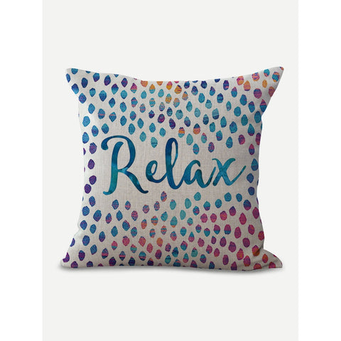 7fd26f7f2d79 Relax and Dots Pillow Cover