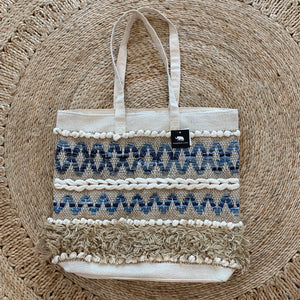 Madras Link - Finley Beach Bag
