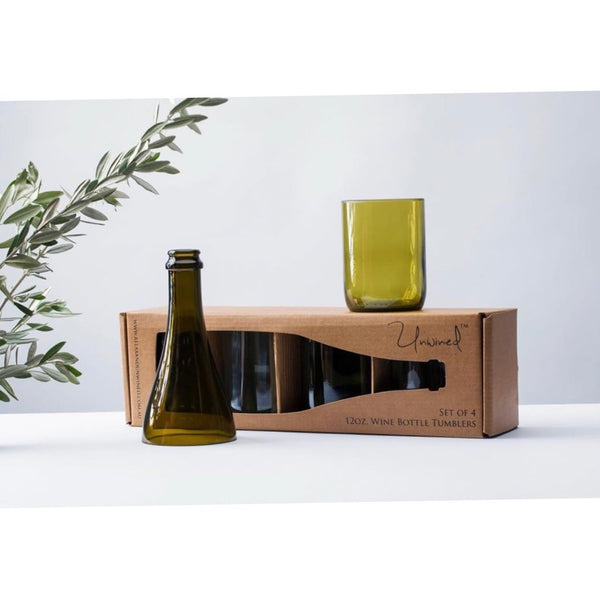 Unwined 12oz Wine Bottle Tumblers