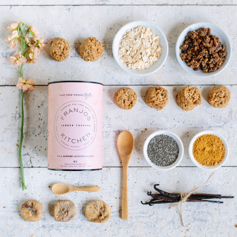 Franjos Kitchen - Fig & Almond Lactation Biscuits