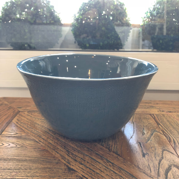 Tilba Country Style Blue Bowl