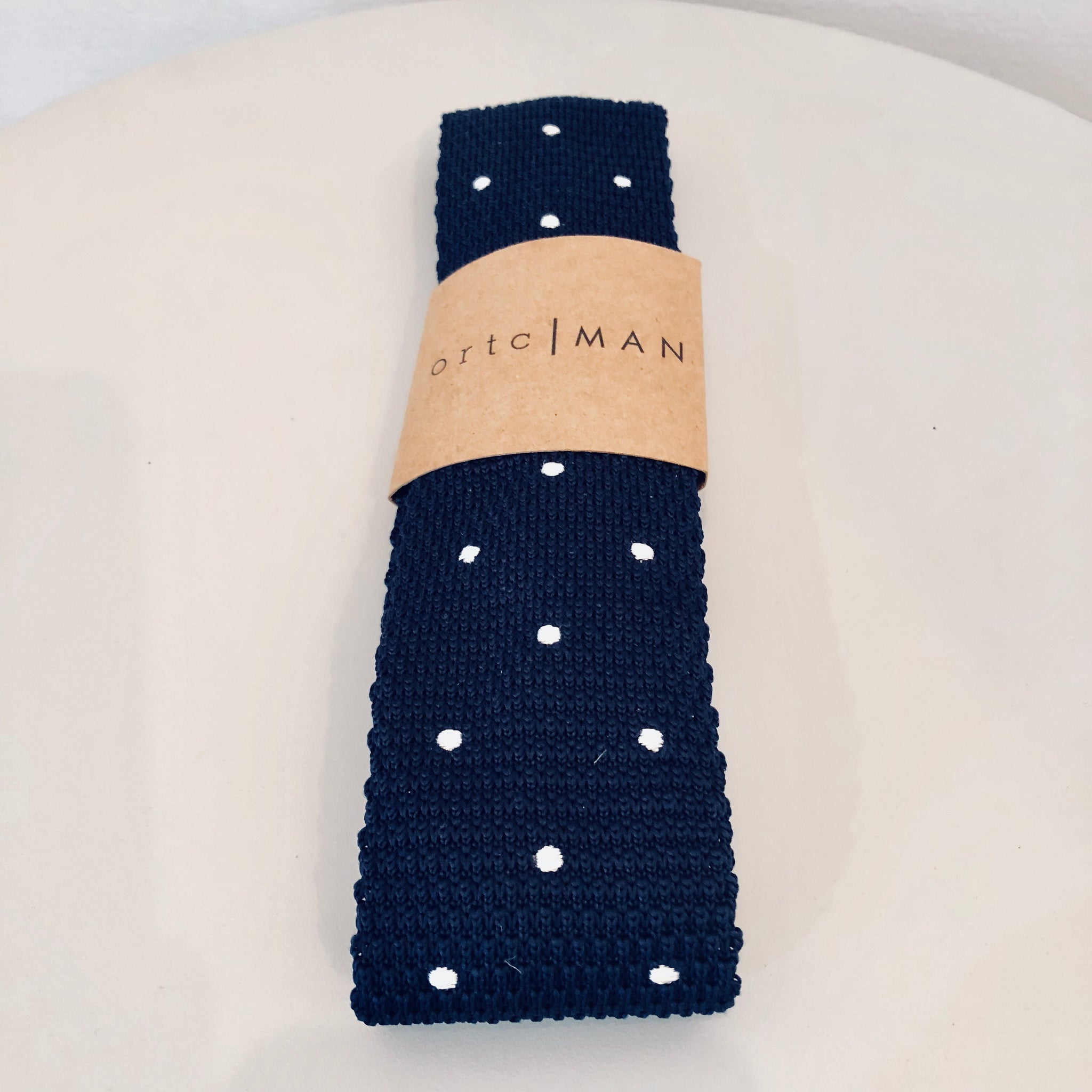 Ortc MAN - Jack Hamilton Wool Knit Neck Tie