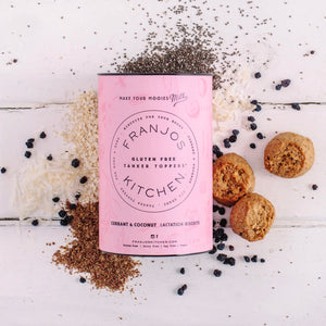 Franjos Kitchen - GLUTEN FREE Currant & Coconut Lactation Biscuits