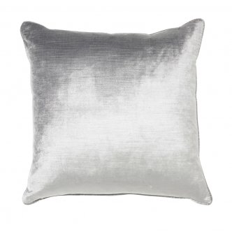 Maison by Rapee - Roma Silver Velvet Cushion