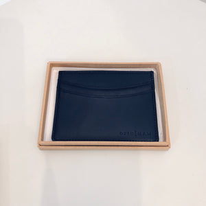 Ortc MAN - Black Leather Cardholder
