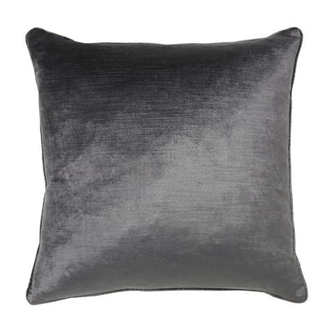 Maison by Rapee - Roma Charcoal Velvet Cushion