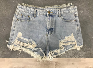 Toby Heart Ginger Coco Denim Shorts
