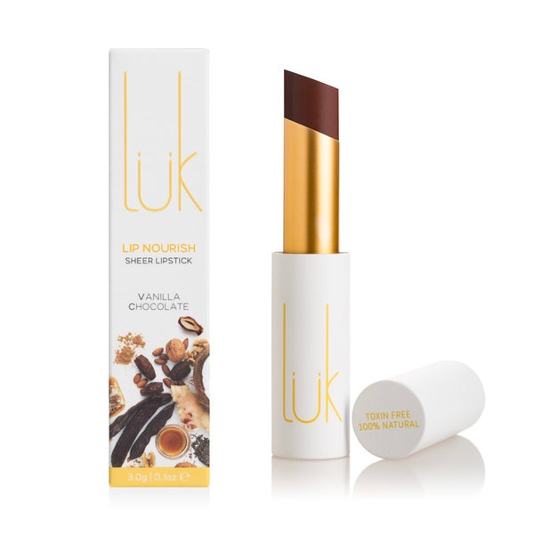 Lük Beautifood Lip Nourish Lipstick - Vanilla Chocolate