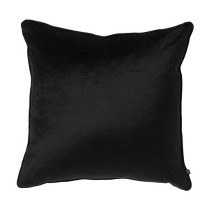 Maison by Rapee - Roma Black Velvet Cushion