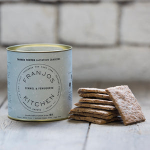 Franjos Kitchen - Fennel & Fenugreek Lactation Crackers