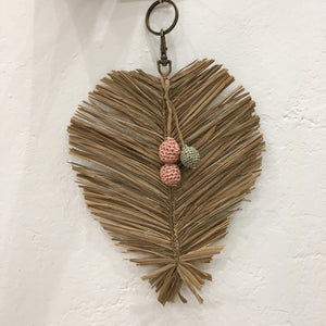 Made in Mada - Raffia Key Ring
