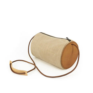 Trifine - Natural Barrel Bag