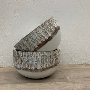 Resorts Wood Resin Bowl