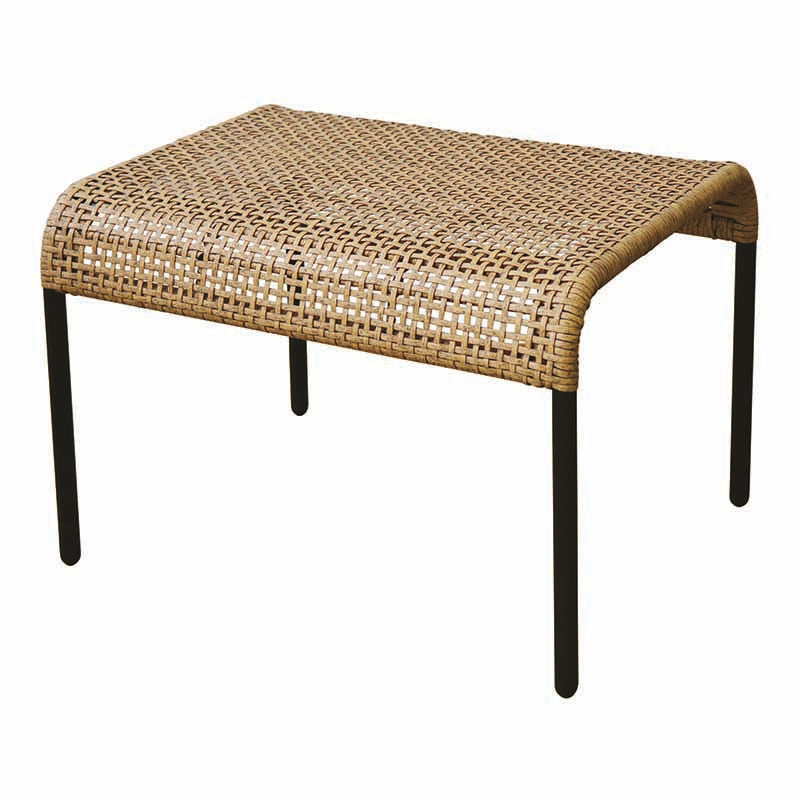Madras Link - Kennedy Natural Footstool