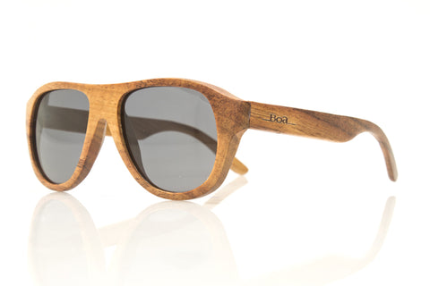Ali'i in Koa Wood, Side View