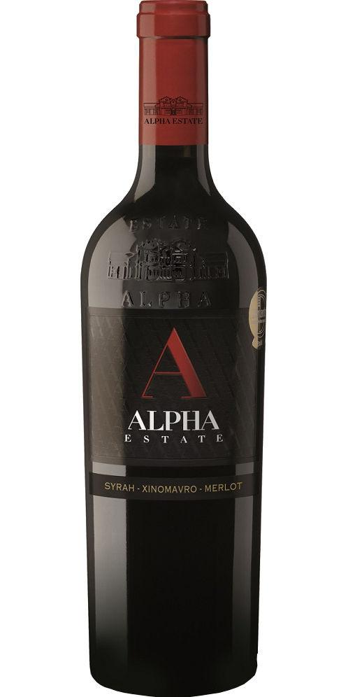 Alpha Estate 'Red', Syrah-Xinomavro-Merlot, Amynteo