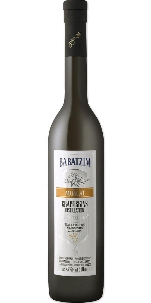 Babatzim Grape Distillate Muscat Blanc, Thessaloniki