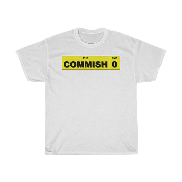 Commish Player Label T-Shirt - SaveTheDraft.com