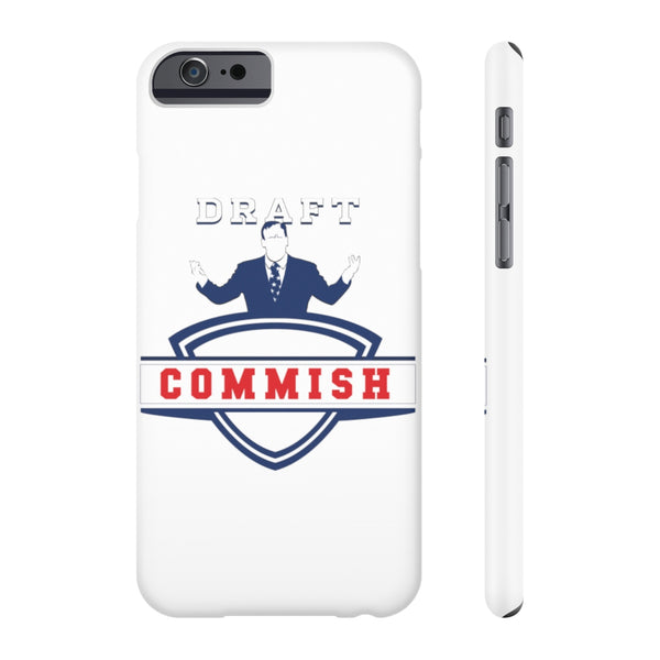 Commissioners Phone Case - SaveTheDraft.com
