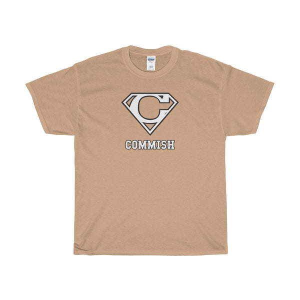 Commish Shield T-Shirt - SaveTheDraft.com