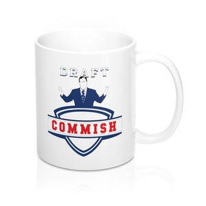 Commissioner's Mug (11 oz) - SaveTheDraft.com