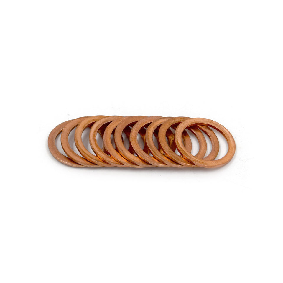 M18 Copper Washers (Pack of 10)