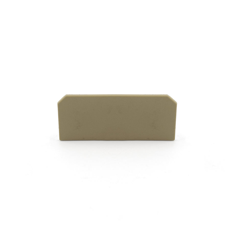 Conta-Clip AP SI-1 BG 2046.2 beige end plate for STK 1 and ST 2 series terminal blocks (Bag of 10)