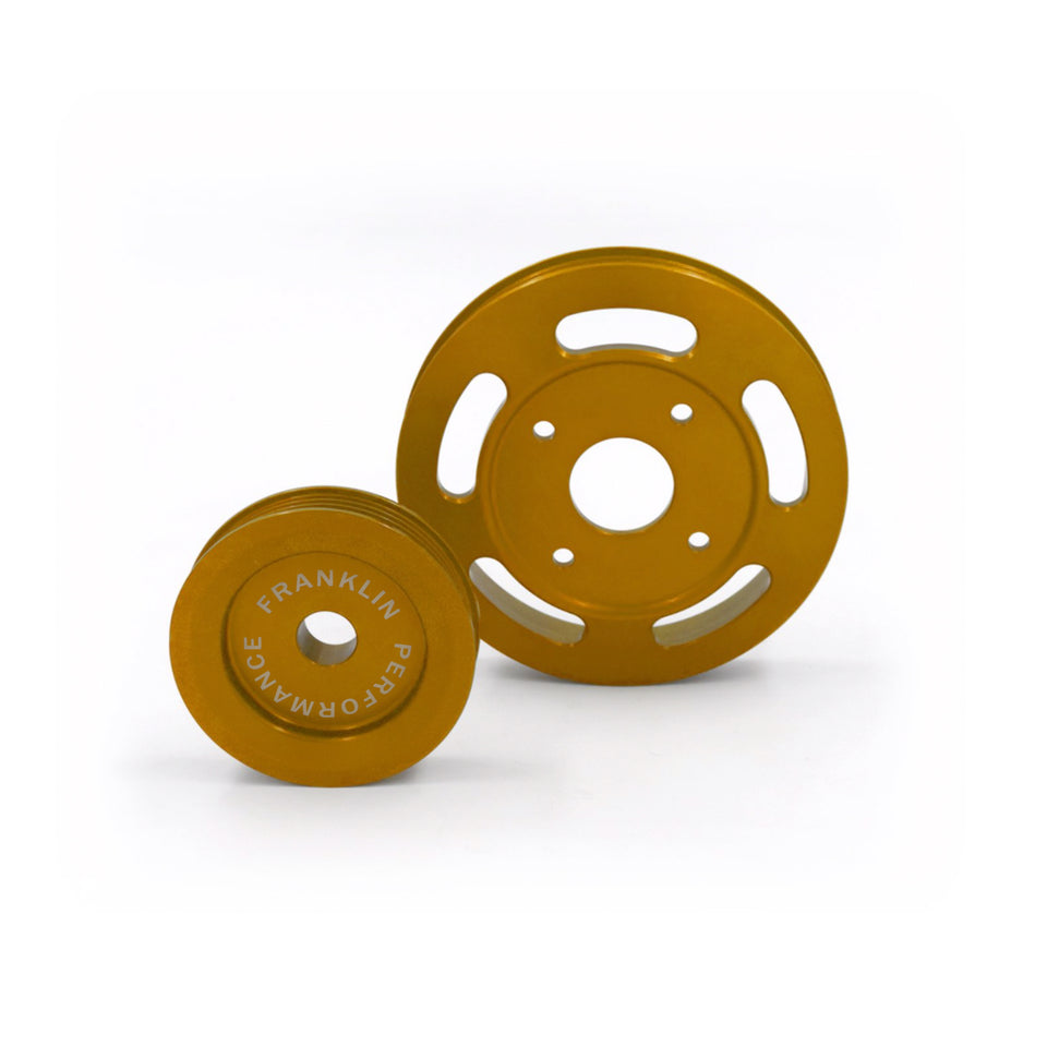 Billet Underdrive Pulley Set for Nissan RB Engines