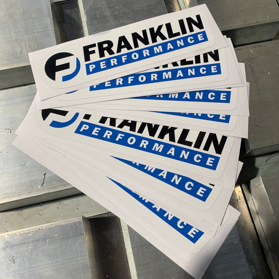 Franklin Performance Sticker