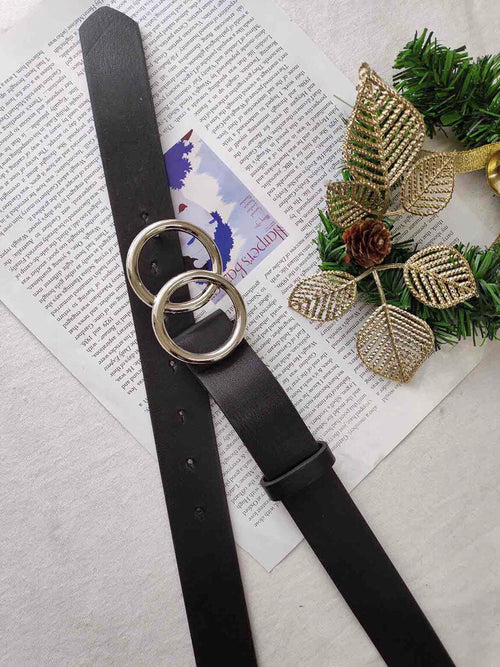 AURA BELT - BLACK/SILVER