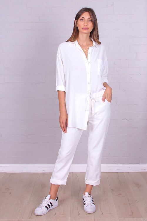 KINSLEY SHIRT - WHITE