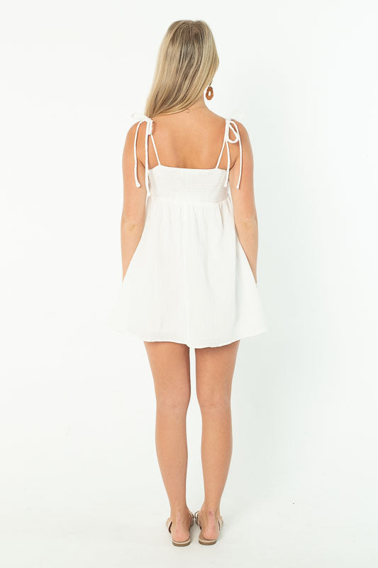 THE ONE DRESS - WHITE