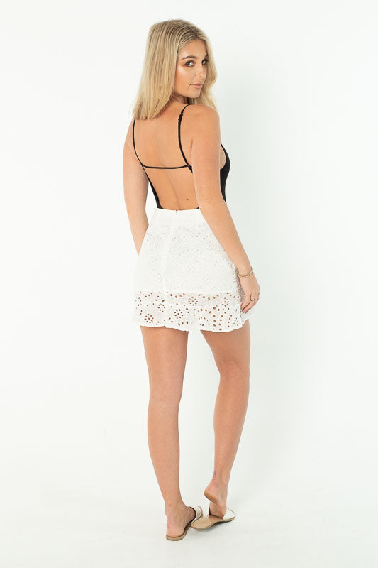 LUNA SKIRT - WHITE