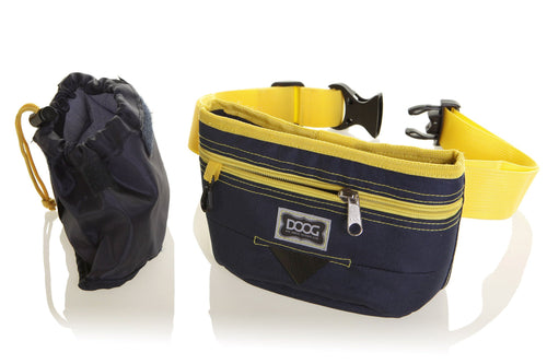 Good Dog Treat Pouch - Navy