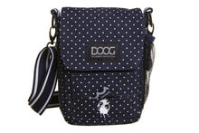 Load image into Gallery viewer, Walkie Bag - Polka Dot Blue & White