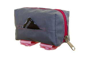 *NEW* Walkie Pouch Pink & Grey
