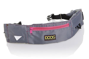 DOOG Walkie Belt - Grey & Neon Pink (New & Improved)