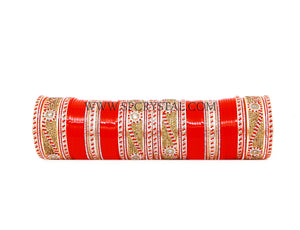 Roller Coaster Red Bridal Wedding Chura