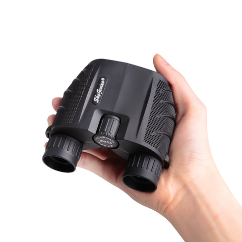 10x25 mini binocular can be foldable and fit in palms or pocket