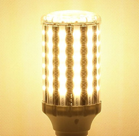 SkyGenius 35W Warm White LED Light Bulb - super bright and no fliker