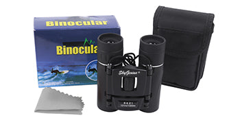 SkyGenius 8x21 binocular package with binocular case included