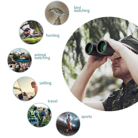 8x42 binocular is ideal for general use like hunting birding and sporting events