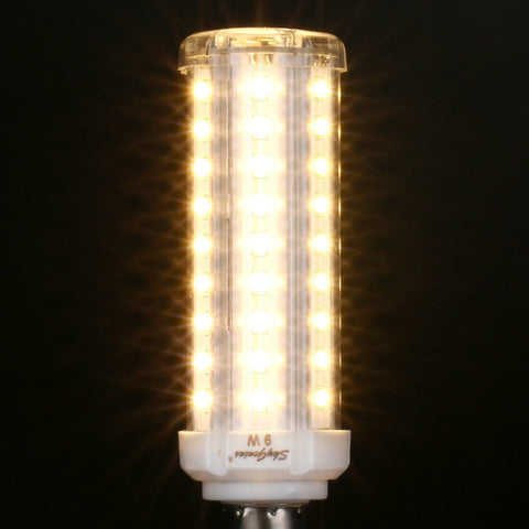 SkyGenius 9W Warm White LED Corn Light Bulb - 950lm 2800-3200K