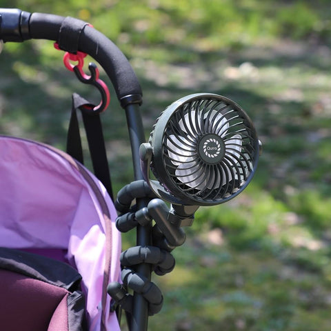 More stroller fan designs to choose from if you buy online