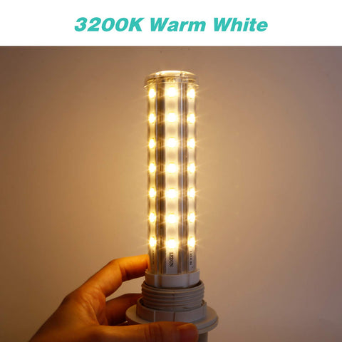 SkyGenius 15W warm white led lighting -  3200k color temperature 1500lm brightness
