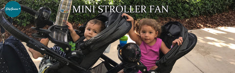 SkyGeniius Rechargeable Clip-on Stroller Fan