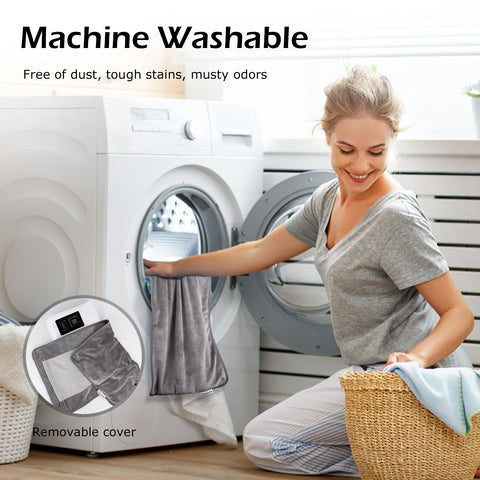 SkyGenius machine washable heating pad - free of dust damp smell and other debris